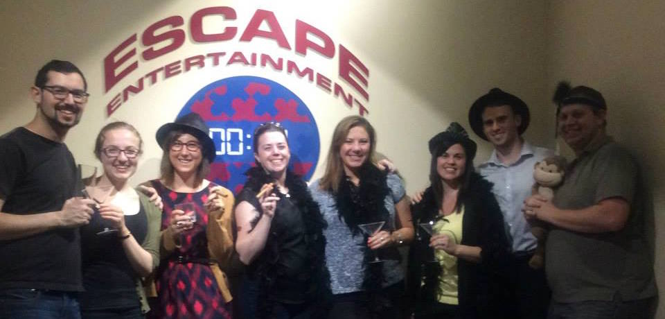 Escape Room Team Building Exercise Canberra
