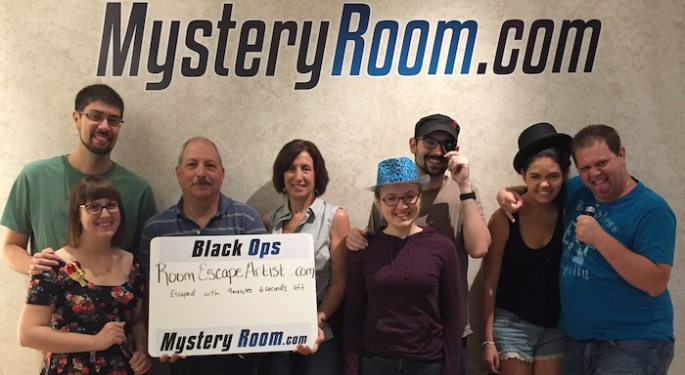 Mystery Room Palisades Center - Black Ops