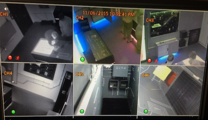 Mission Escape Games - Cameras