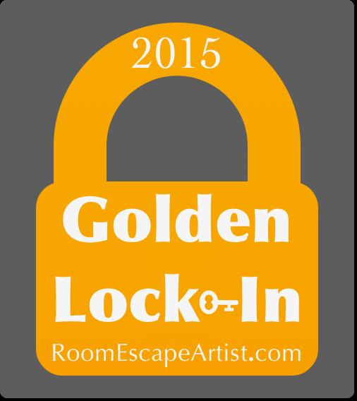 REA Golden Lock-In Badge