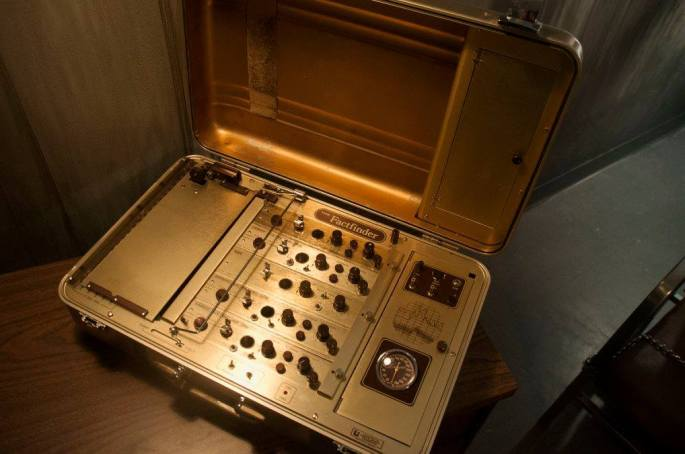 An old lie detector machine.