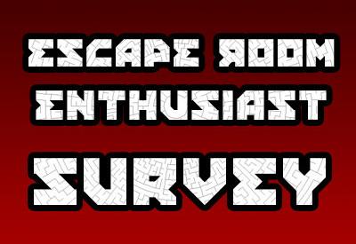Escape Room Enthusiast Survey logo