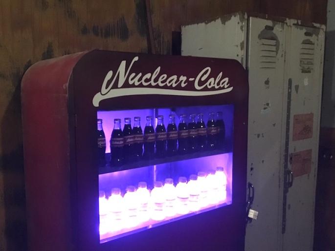 A vending machine for