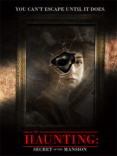 Haunting game teaser shows a framed photo of a pretty women. The glass of the frame is shattered and it looks like something is hiding in the gap between the glass shards.