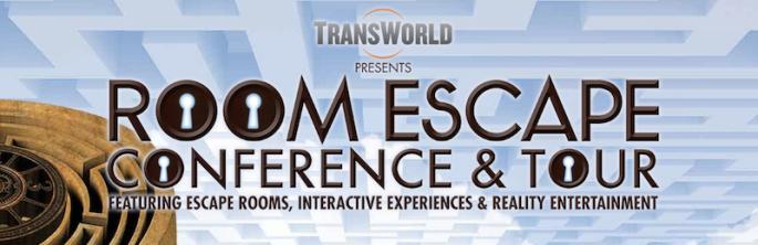Transworld Niagara Falls Room Escape Conference Logo