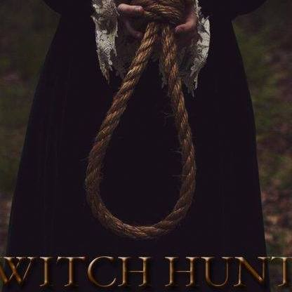 Promo image for Witch Hunt shows a pair of hands holding a noose.